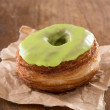 Stock Photo: Apple fondant croissant and donut mixture