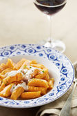 Dish of pumpkin gnocchi — Stock Photo
