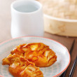 Cooked dim sums with soy sauce — Stock Photo #40221829