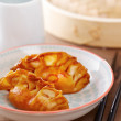 Cooked dim sums with soy sauce — Stock Photo #40221841