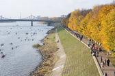 People on the embankment Afanasy Nikitin — Stock Photo