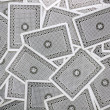 Playing card back side - Stock Photo