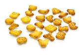 """""""cookies"""" en la forma del alfabeto — Foto de Stock"""