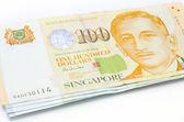 Singapore dollar notes — Stock Photo