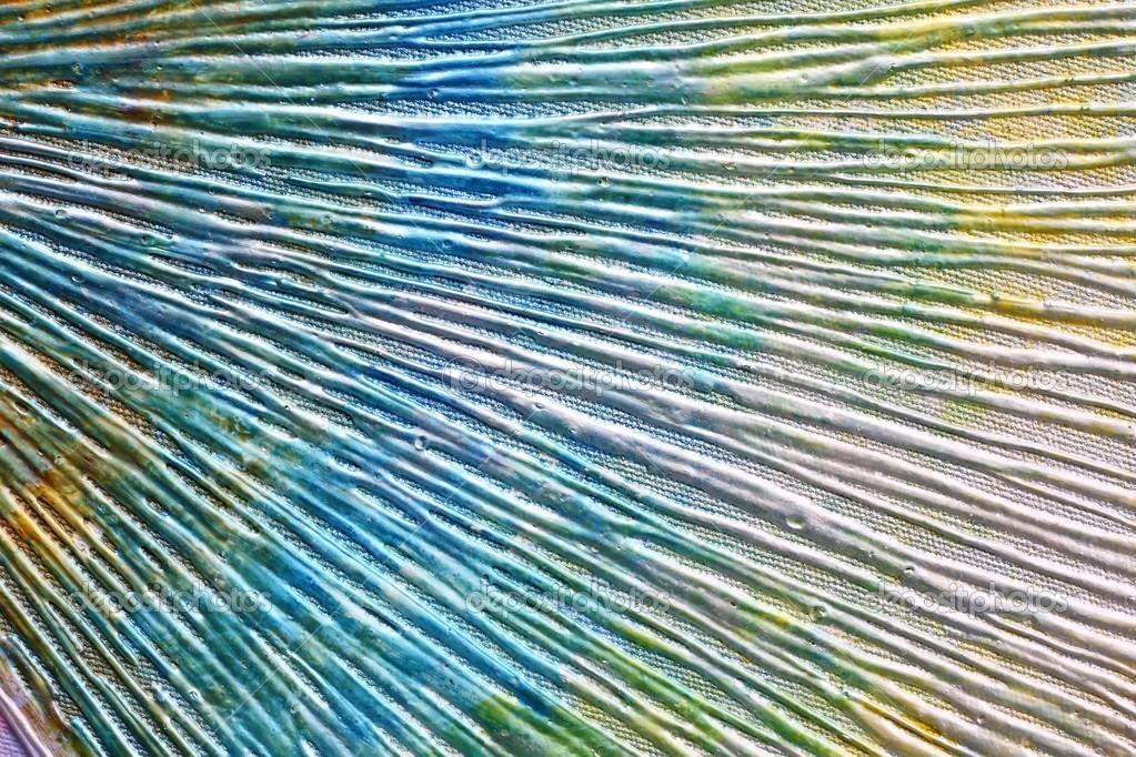 Abstraktní malba akrylem