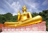 Golden, Big Buddha Phuket Thailand — Stock Photo