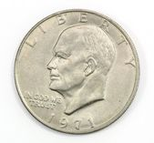 1971 US coin — Stock Photo