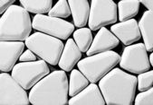 White polyfoam carved for decoration — Stock Photo