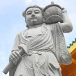 Chinese stone statue in phuket — Stock Photo
