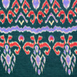 Pattern on thai cloth texture of general traditional thai style - 图库照片