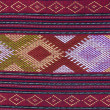 Pattern on thai cloth texture of general traditional thai style - Foto Stock