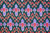 Wzór na tajski szmatką tekstura ogólne tradycyjnego stylu tajskiego — Zdjęcie stockowe