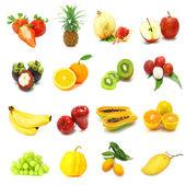 Blandade frukter — Stockfoto
