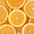 Fresh orange fruit background — Stock Photo