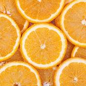 Fresh orange fruit background — Stock Photo