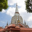 Stock Photo: Pagodin temple in phangngthailand