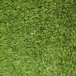 Artificial Grass Field Top View - Stock Photo