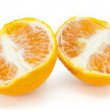 Orange fruit on white background — Stock Photo #13641780