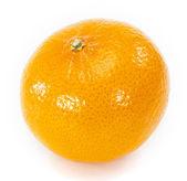 Beyaz arka planda turuncu meyve — Stok fotoğraf