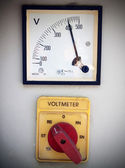 Volt meter — Stock Photo