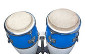 Two congas isolated on white background — Stock Photo