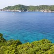 Beautiful crystal clear sea at tropical island, Similan island, - Stock Photo