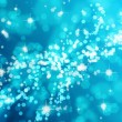 Light blue bokeh background - Stock Photo