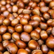 Stock Photo: Sweet chestnuts