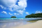 Tropical sea , kata beach phuket thailand — Stock Photo