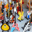 Collection of electric guitars — Stock Photo #21408235