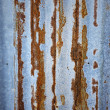 Old zinc sheet with beautiful rust — Stock Photo #21409239