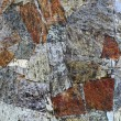 Photo: Background of old stone wall texture