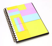 Notepad in note book — Stock Photo