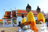 Sacred Buddha images in Surat thani, Thailand — Stock Photo