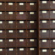 Stock Photo: Wooden drawer