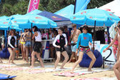 PHUKET, THAILAND - SEPTEMBER 7: Participant in Rip Curl girls go — Stock Photo