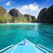 Maya bay, Phi Phi Leh island,Thailand — Stock Photo