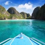 Maya bay, Phi Phi Leh island,Thailand — Stock Photo