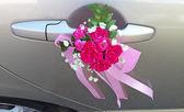 Wedding car — Stock Photo