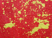 Golden splashes Abstract red background — 图库照片