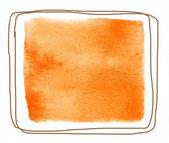 Watercolor square  — Stock Photo