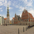 Stock Photo: In Old Riga