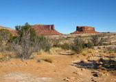 Montagnes rouges de l'utah — Photo