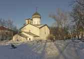 Church of St Nicolas in Pskov — Stock Photo