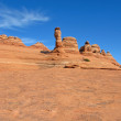 The Delicate Arch - Symbol of Utah — Stock Photo