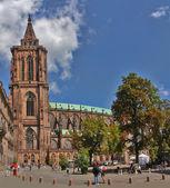 Catedral de estrasburgo — Foto Stock