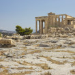 Erechtheion in Athens Acropolis — Stock Photo