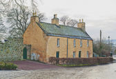 Ancient inn in Roslin, Scotland — Stock Photo