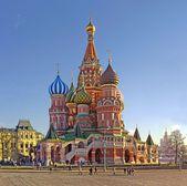 Moskwa najbardziej katedry — Zdjęcie stockowe