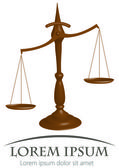 Scales of justice — Stock Vector